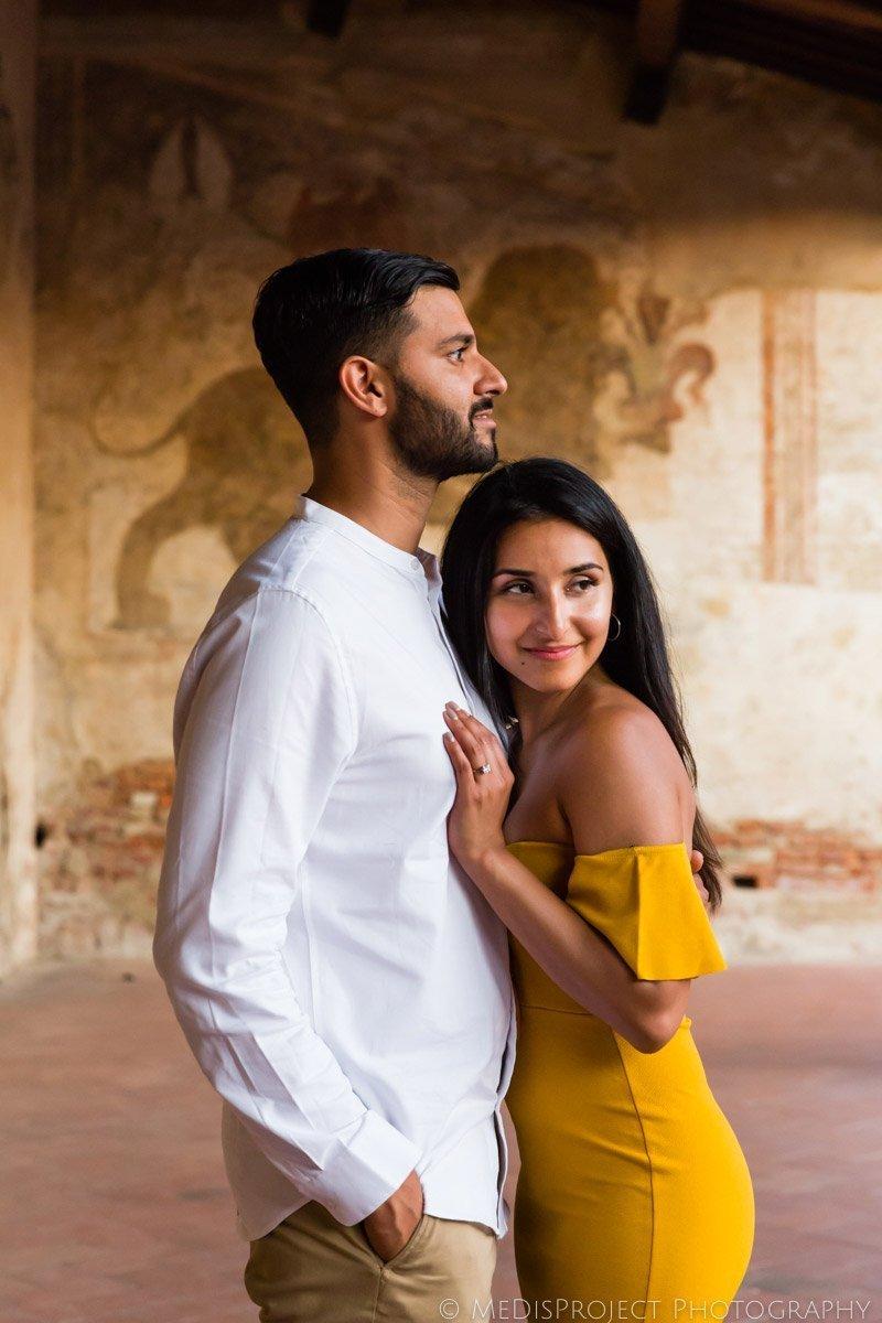 Couples photographers in Certaldo