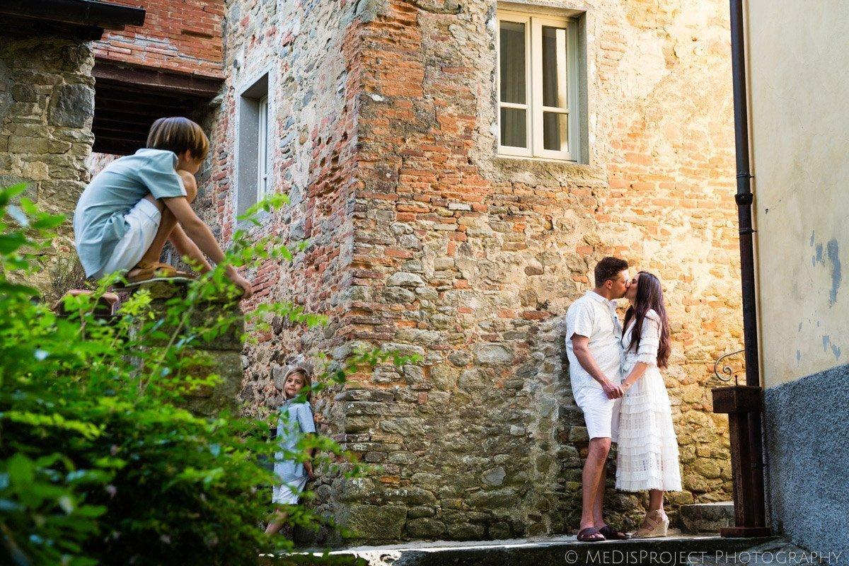 Vacation photographers at il Borro Tuscany