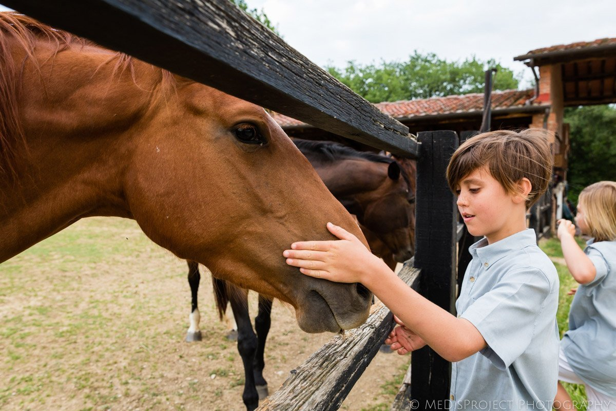 horse friendly places in Tuscany