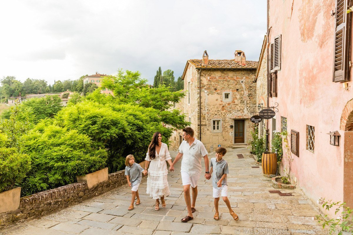 Family photos at il Borro