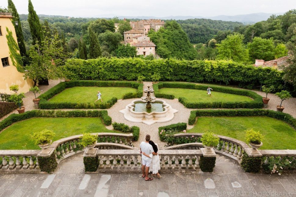 wonderful villas with gardens in Tuscany