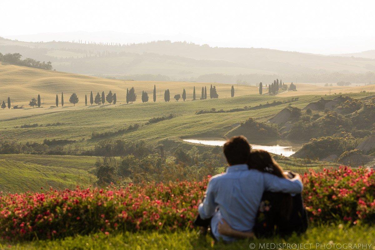 Romantic photos Tuscany
