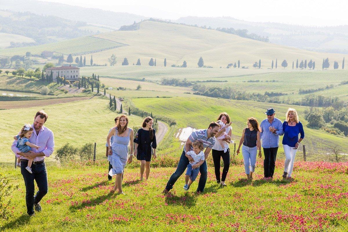 Italian Family Reunion photo session