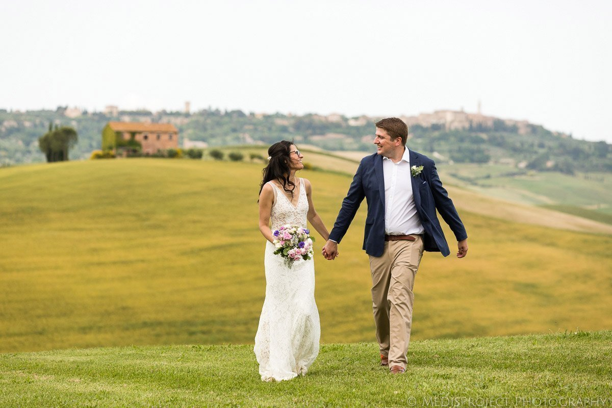 wedding photo session at Agriturismo il Rigo Tuscany