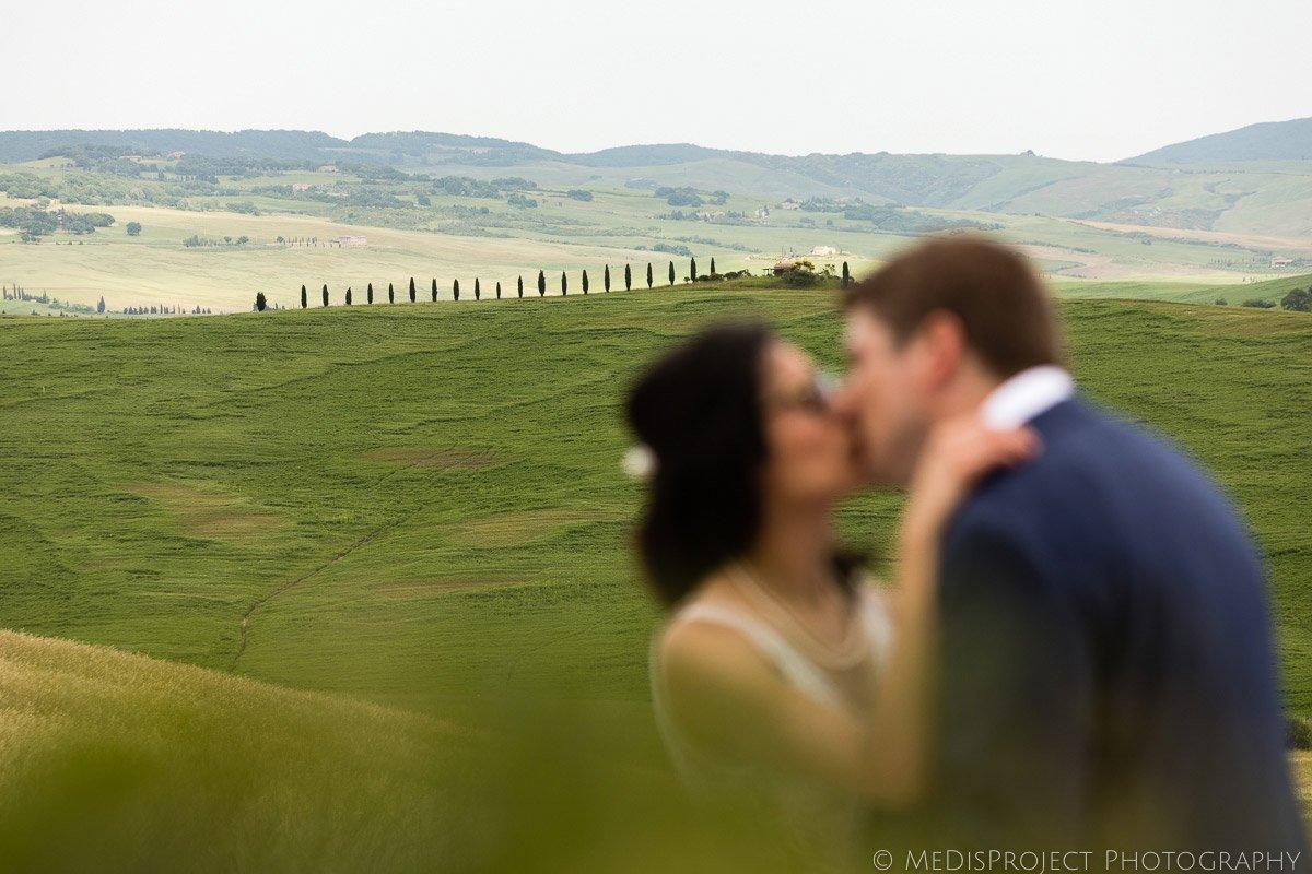 wedding photo session at Agriturismo il Rigo Tuscany