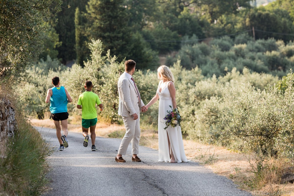 original and candid Tuscan wedding photographers