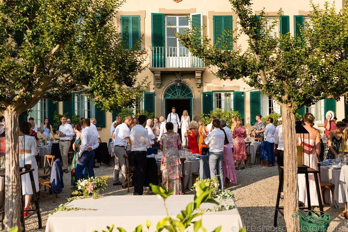 Villa Petrolo wedding in Tuscany