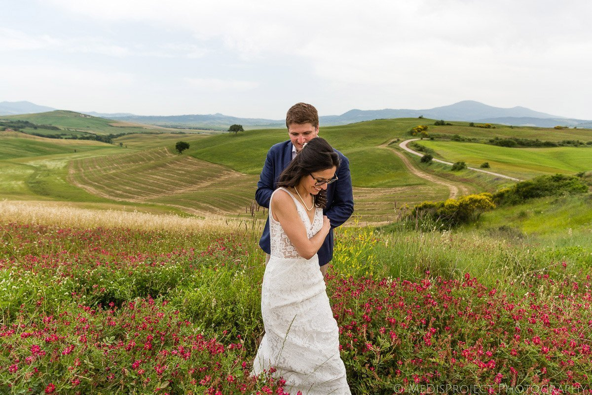 wedding photo at Agriturismo il Rigo Tuscany