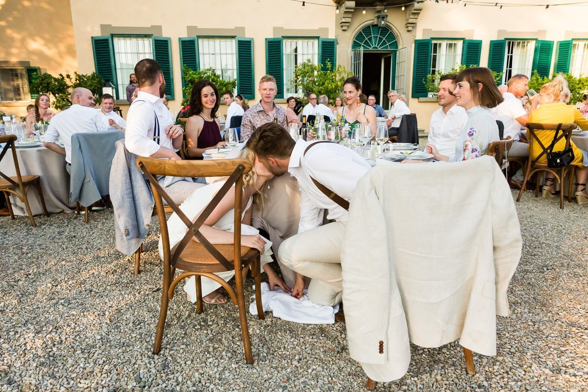 Danish wedding traditions in Italy