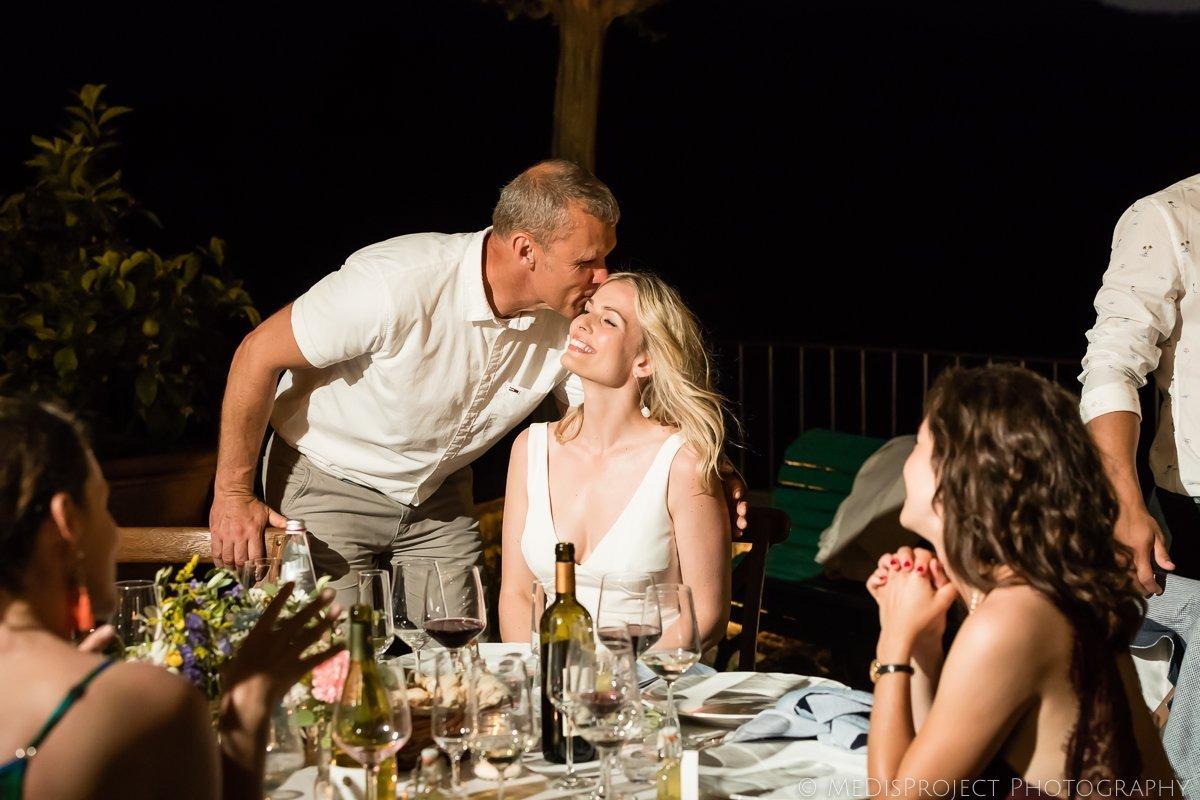Danish wedding traditions at dinner