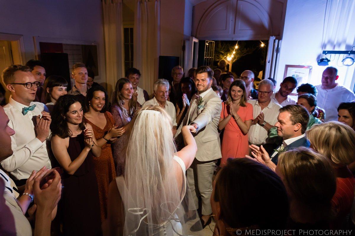 Bridal waltz at Villa Petrolo Bucine