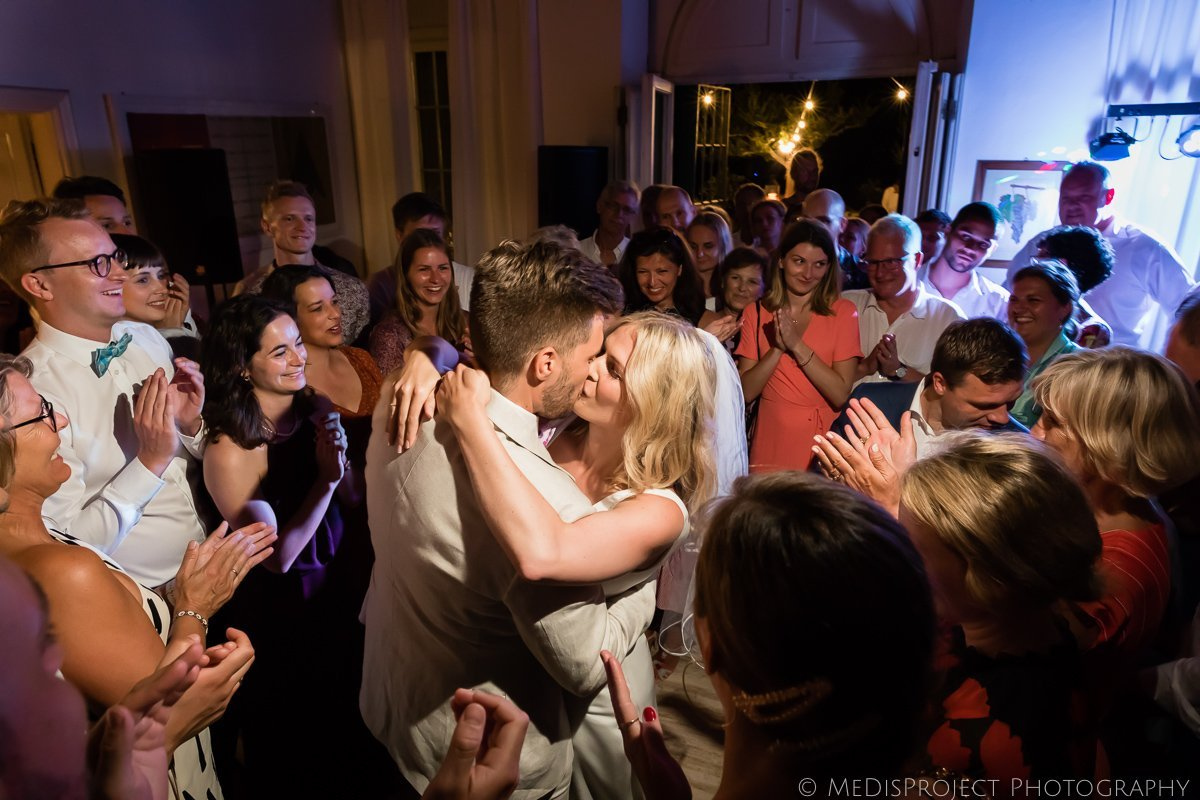 Wedding dance photographers in Tuscany