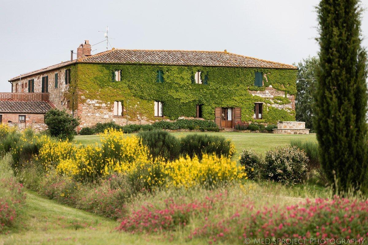 Agriturismo il Rigo in San Quirico d'Orcia Tuscany