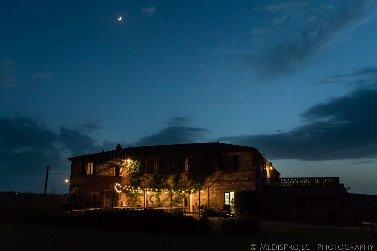 Agriturismo il Rigo at night