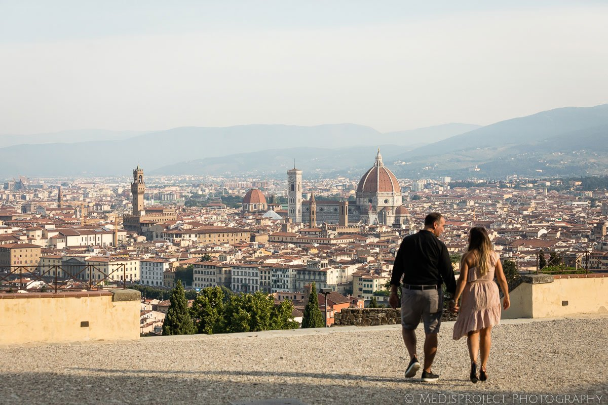 anniversary photo session in Florence