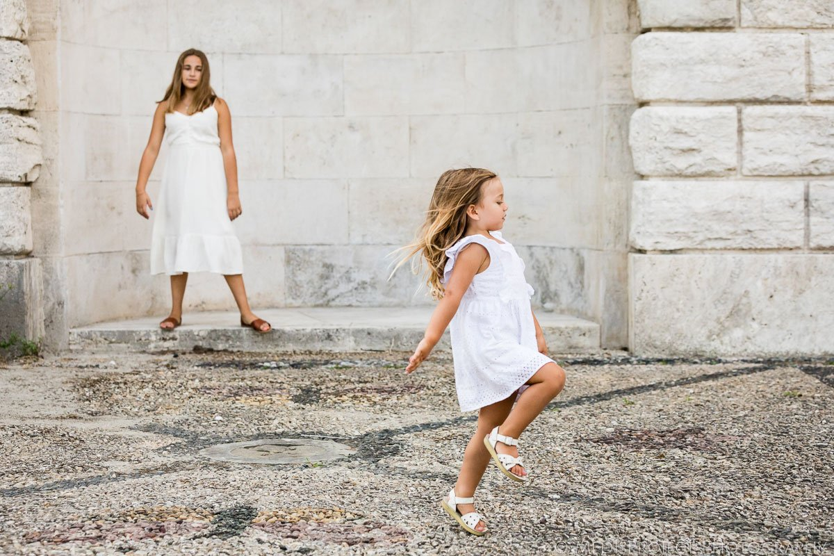 kids friendly photo session in Florence