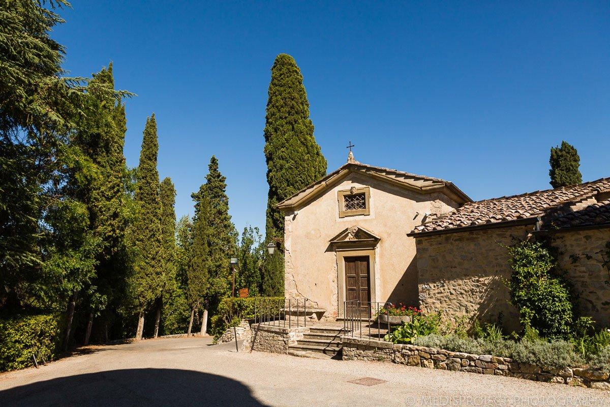Wedding venue Meleto Castle in Tuscany