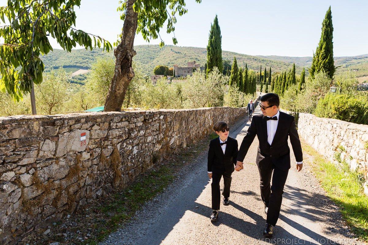 Florence wedding photographers in Meleto Castle