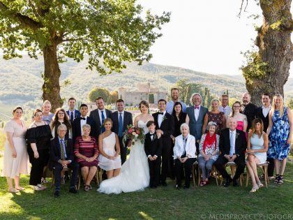 Wedding photographers in Tuscany | Getting married at Meleto Castle