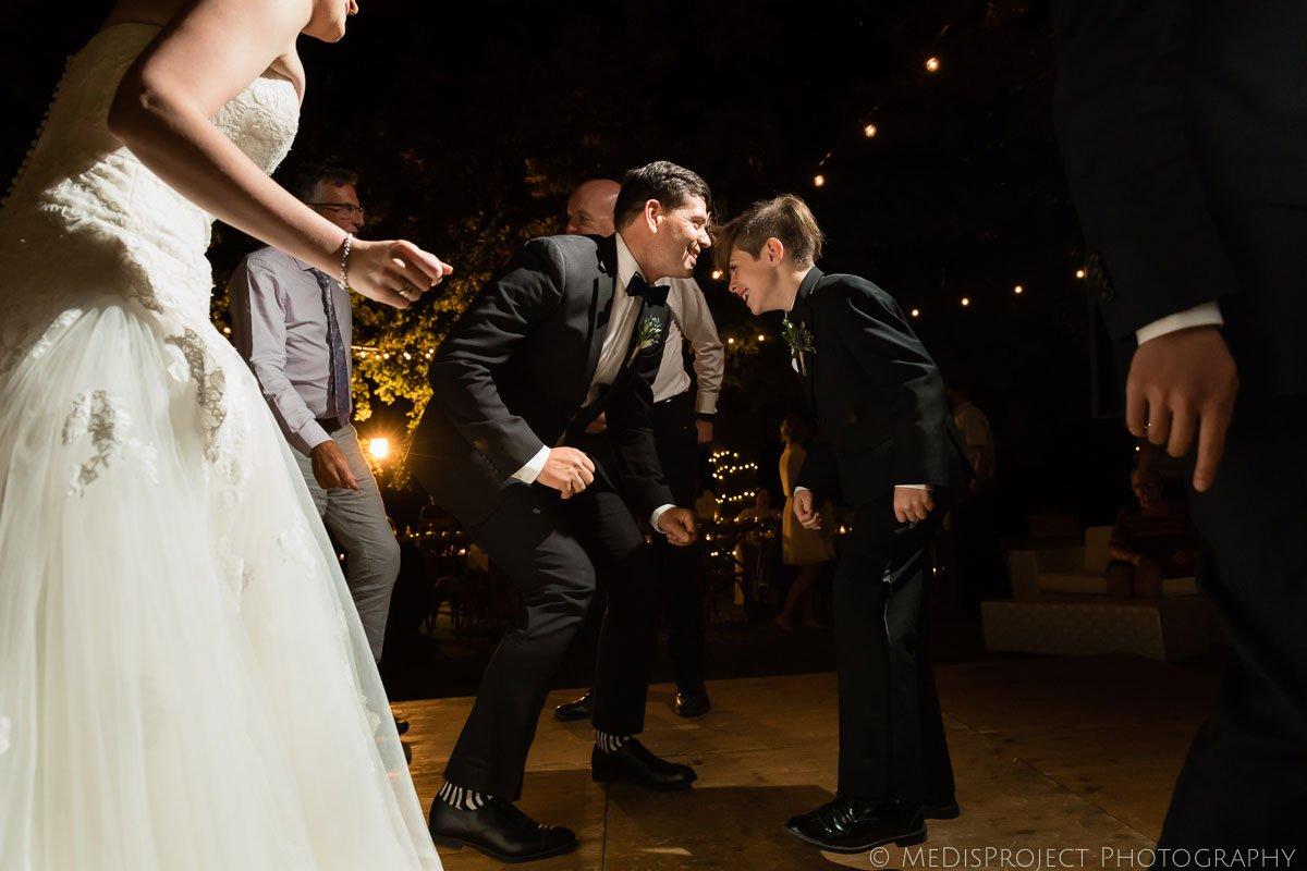 Wedding party night