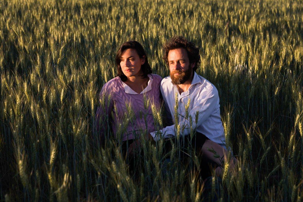 Luisa Cipolla and Matthias Ruge of Agriturismo il Rigo