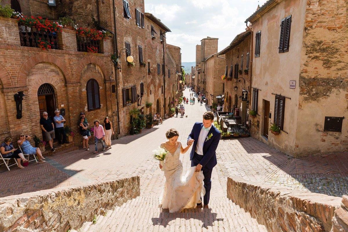 wedding photoshoot in Tuscany
