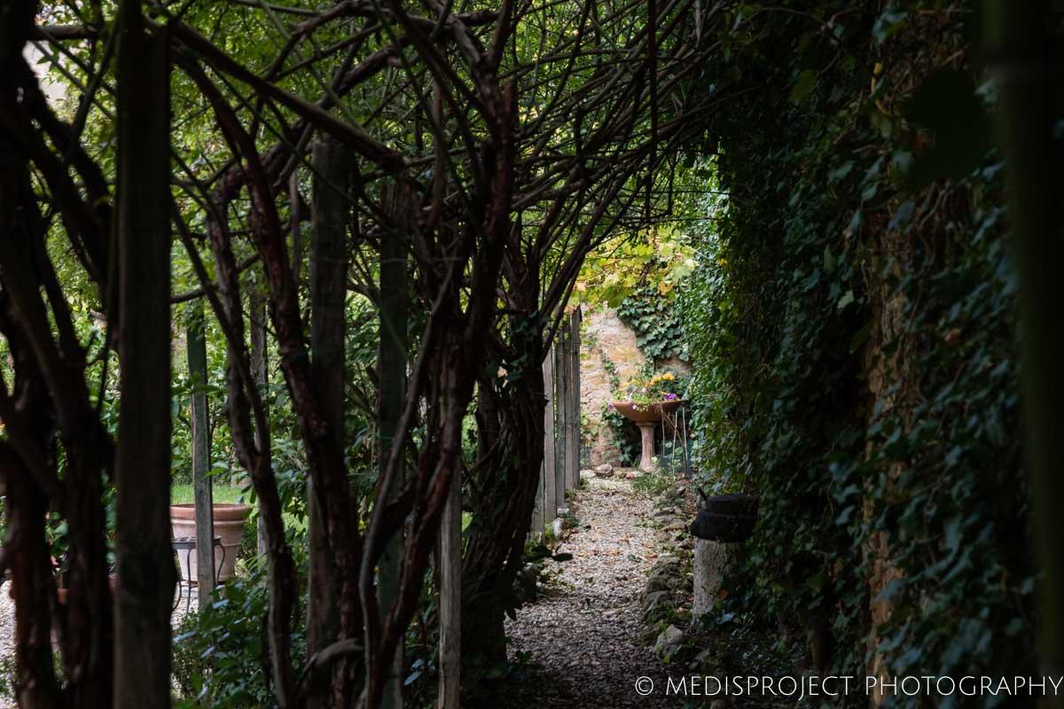 the secret garden of Casa dell'Abate Naldi