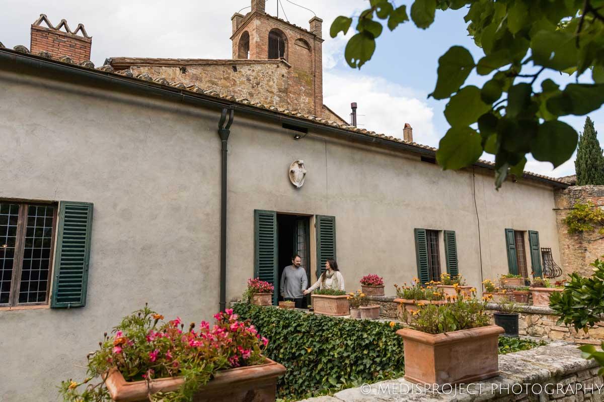 garden view of Casa dell'Abate Naldi