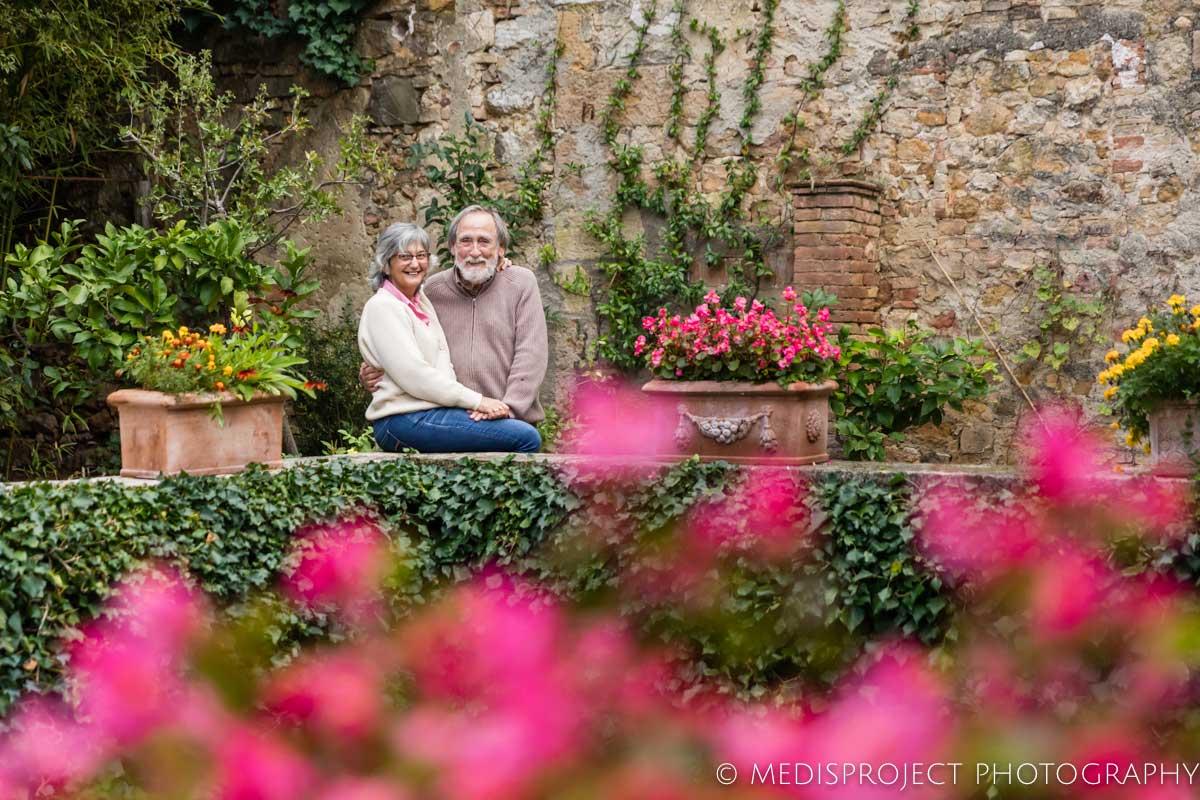 Vittorio Cipolla and his wife Lorenza at Casa dell'Abate Naldi