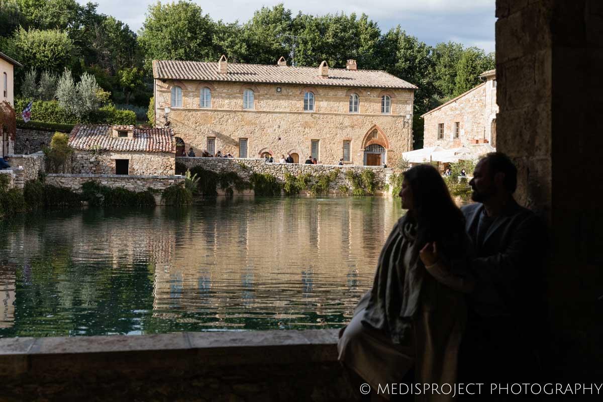 Bagno Vignoni pool square