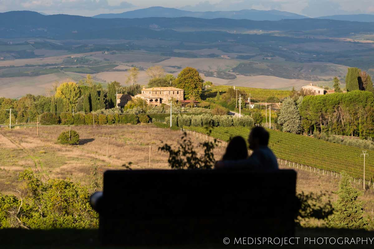 Local photographers in Tuscany