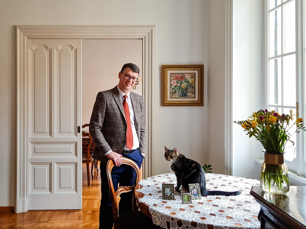 Ričardas ŠLEPAVIČIUS, Ambassador of Lithuania to Italy