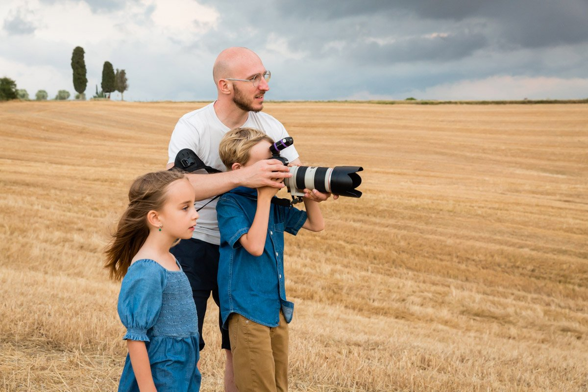 Matteo Baldini Family Photographer in Tuscany